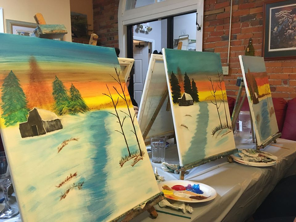Picture Painting Party & Drinks